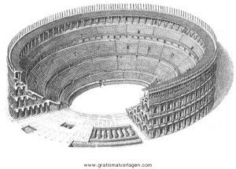 Kolosseum Malvorlage