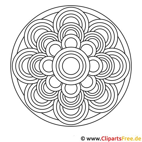 Kostenlose Malvorlagen Mandala