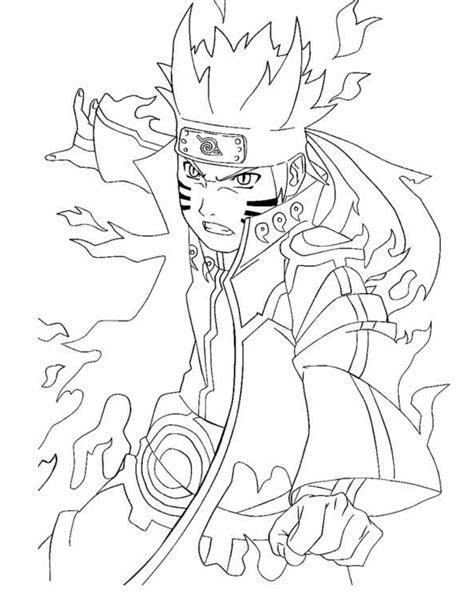 Kostenlose Malvorlagen Naruto