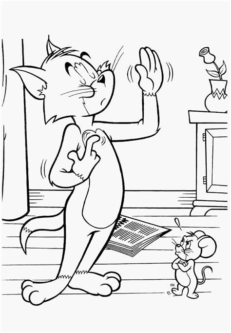 Kostenlose Malvorlagen Tom Und Jerry