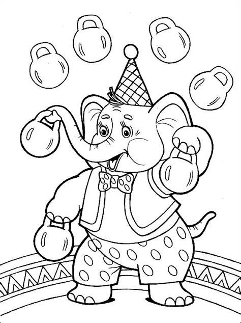 Kostenlose Malvorlagen Zirkus