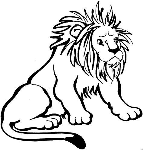 Löwe Ausmalbild Für Kinder