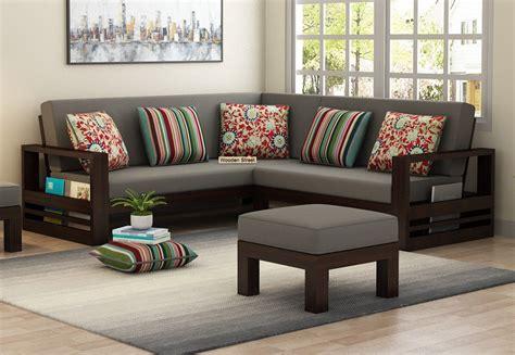 L Shaped Wooden Sofa Set Designs