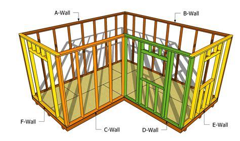 L shaped shed plans Image