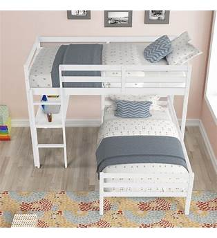 L Shaped Twin Bed Plans