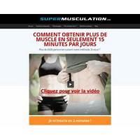 Compare la musculation sans materiel: super conversions 70% de commission
