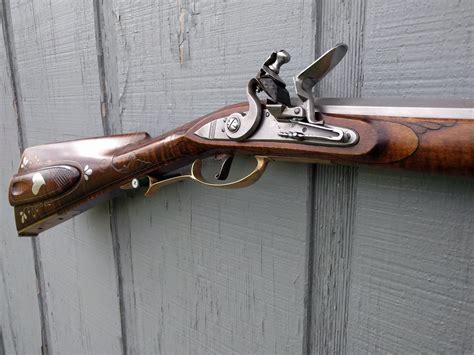 Lancaster Long Rifle Flintlock In Line Stock