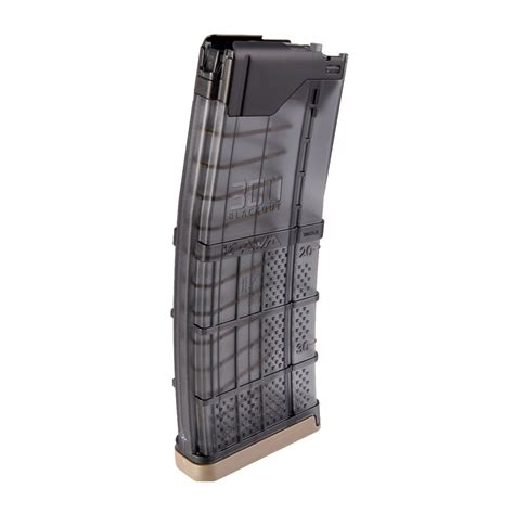 Lancer Systems Ar15 L5awm Translucent Smoke Magazine 30