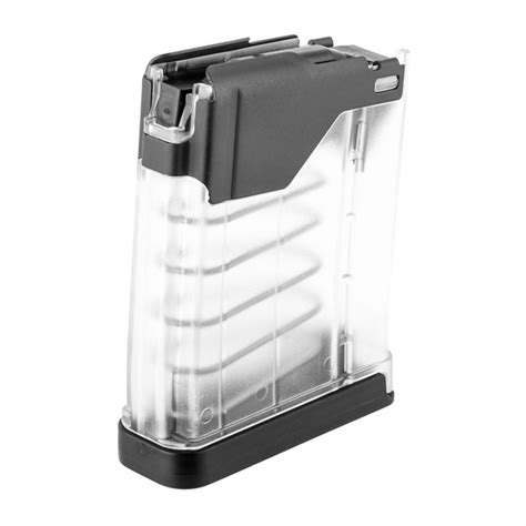 Lancer Systems L5awm Translucent Clear 10rd Magazines L5awm 10rd Translucent Clear