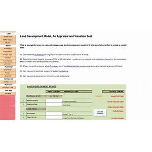 Land development model, an appraisal and valuation tool work or scam?