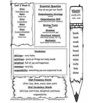 Language Arts Free Printable Worksheets
