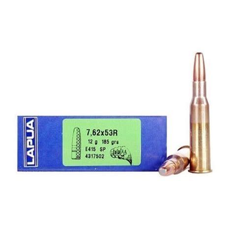 Lapua Mega Ammo 762x53r 185gr Soft Point 762x53r 185gr Soft Point 20box