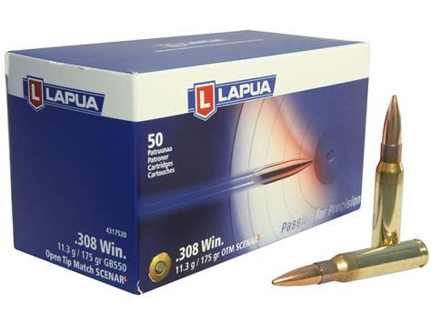 LAPUA SCENAR-L AMMO 6MM BR NORMA 90GR OTM Sinclair Intl