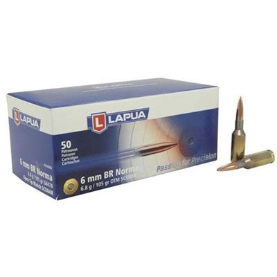 Lapua Scenarl Ammo 6mm Br Norma 105gr Hp Sinclair Intl And Sig Sauer Factory Case Ebay
