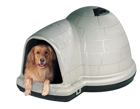 large petmate igloo dog house