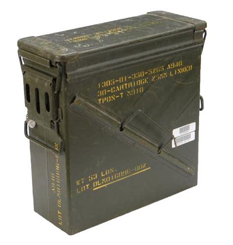 Large Metal Ammo Box