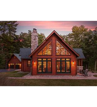 Large Cabin Style House Plans