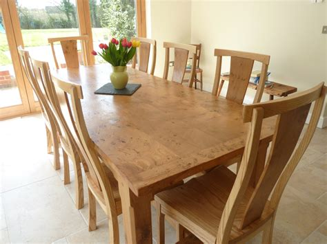 Large kitchen table and chairs Image