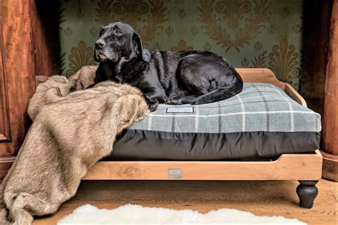 Large wooden bed Image