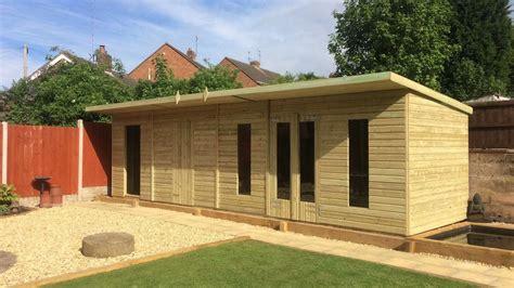 Large wooden garden sheds Image