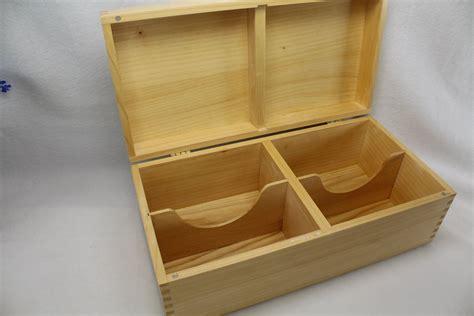 Large wooden recipe box Image