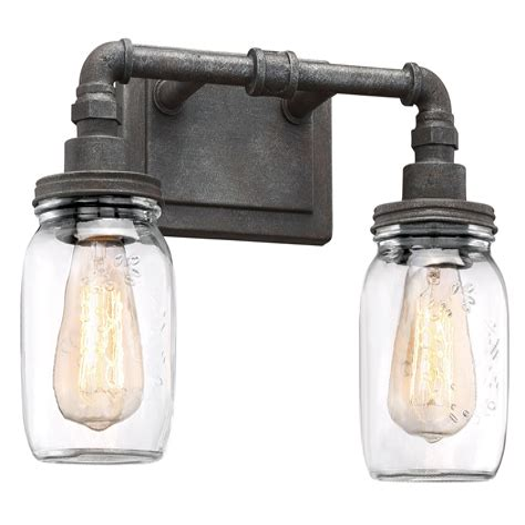 Larue Recycled 2-Light Vanity Light