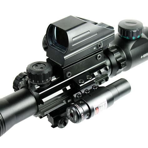Rifle-Scopes Laser Scope Sniper Rifle.