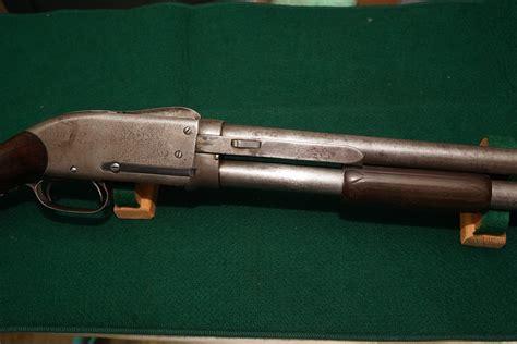 Late 1800s Pump Action American Shotguns