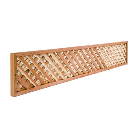 Lattice fence lowes Image