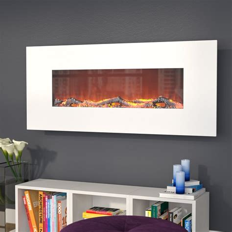Lauderhill Wall Mounted Electric Fireplace