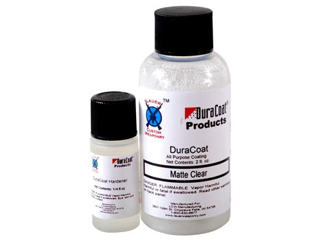 Lauer Custom Weaponry Duracoat Clear Duracoat 4oz Matte Clear