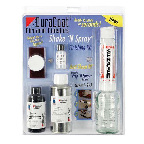 Lauer Custom Weaponry Shake N Bake Durabake Finishing Kit Shake N Bake Kit Desert Brown