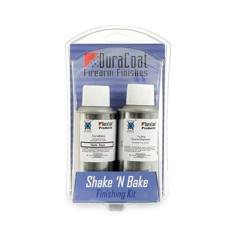 Lauer Custom Weaponry Shake N Bake Durabake Finishing Kit Shake N Bake Kit Stock Red