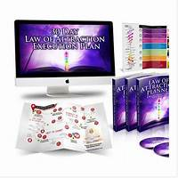 Law of attraction life system with physical planners coupon
