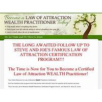 Law of attraction wealth practitioner certification secret code