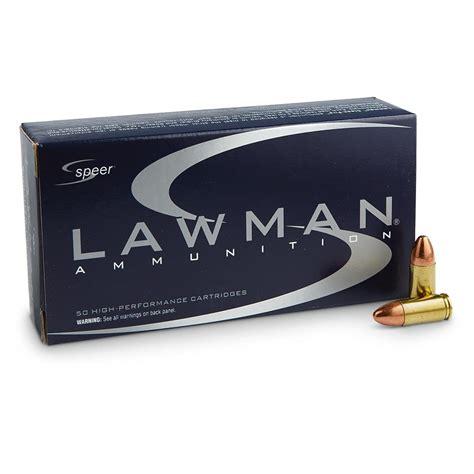 Lawman 124gr 9mm Ammo