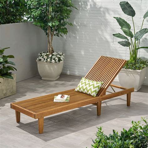Lawn chaise lounge Image