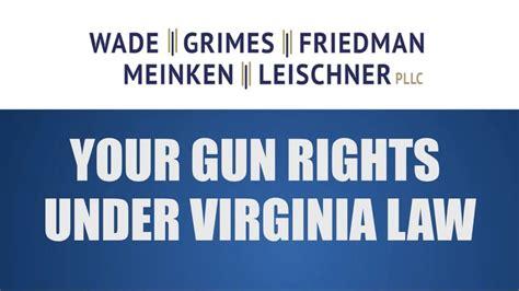 Laws On Buy A Handgun Virginia