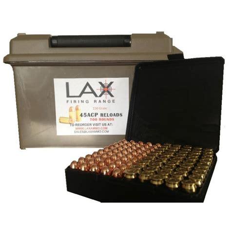 Lax Ammo 45 Acp Reloads