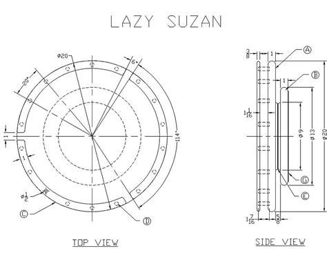 lazy susan plans Image