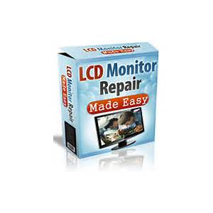 Lcd monitor repair made easy promotional code