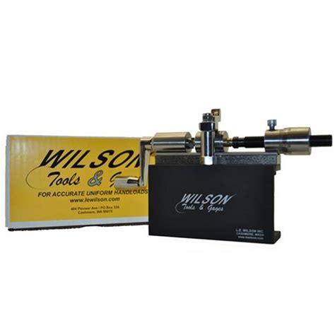 Le Wilson 50 Bmg Microstop Case Trimmer Kit