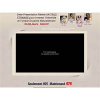 Le miracle de la grossesse (tm) : pregnancy miracle (tm) in french! experience