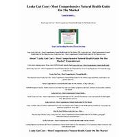 Leaky gut cure most comprehensive natural health guide on the market coupons