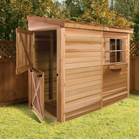 Lean to sheds for storage Image