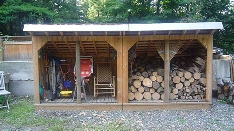 Lean to wood shed plans Image