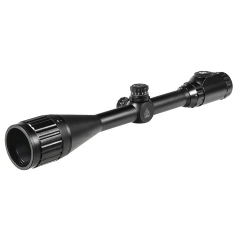 Rifle-Scopes Leapers 6 24x50mm Rifle Scope.