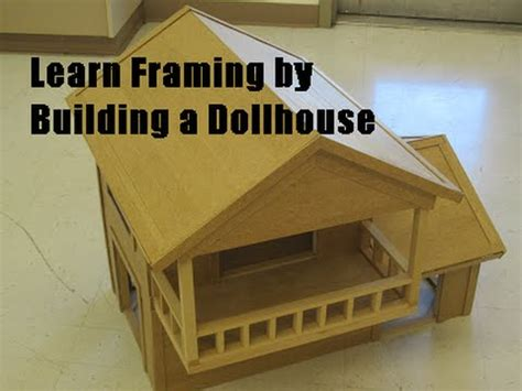 Learn framing by building a dollhouse from scratch part 1 buildingtheway Image