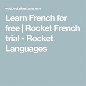 Discount learn french for free rocket french trial