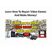 Cheap learn how to repair video games consoles